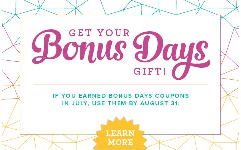 bonus days redeem