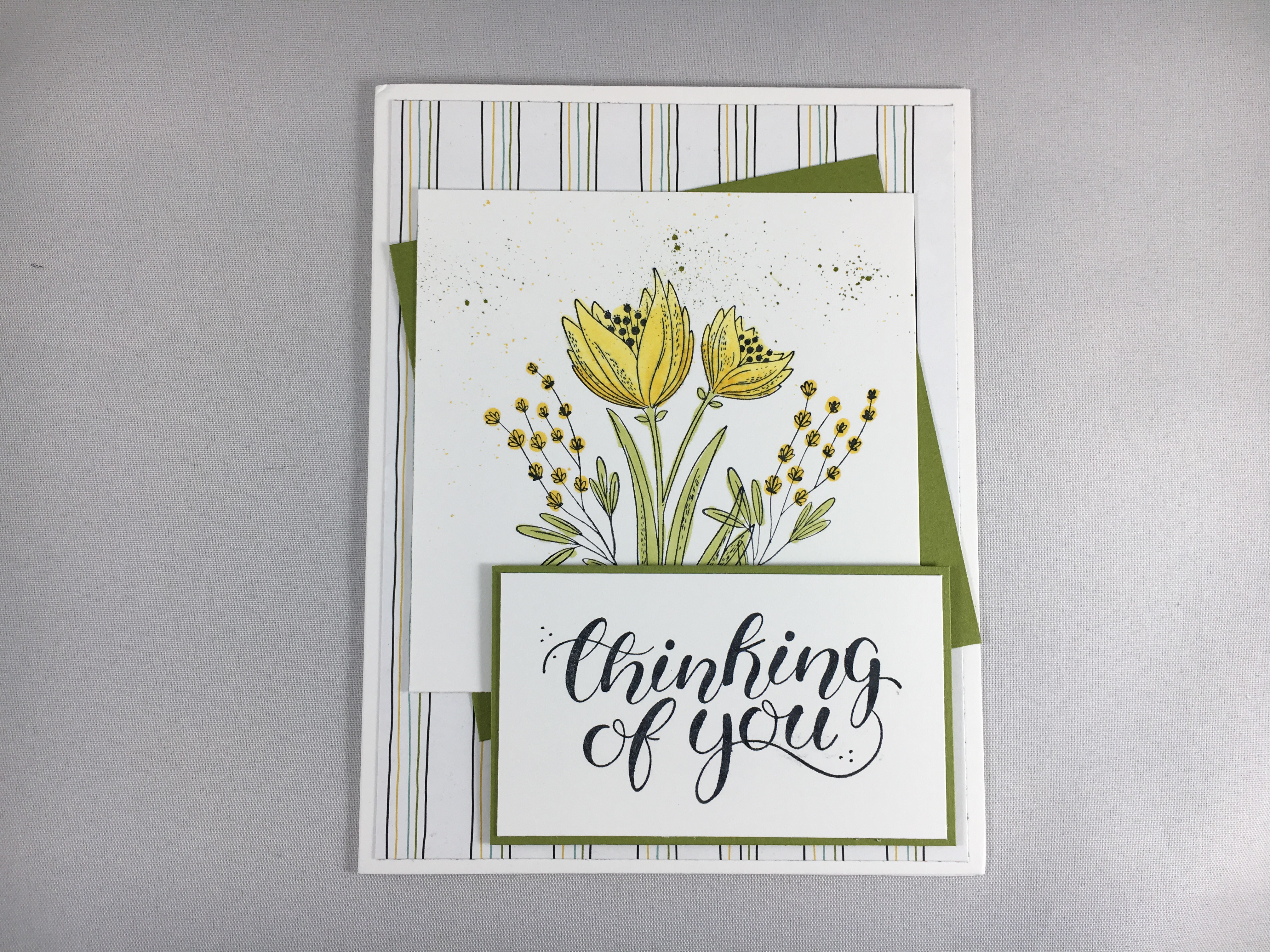 Stampin' Up Count My Blessings card idea- www.juststampin.com
