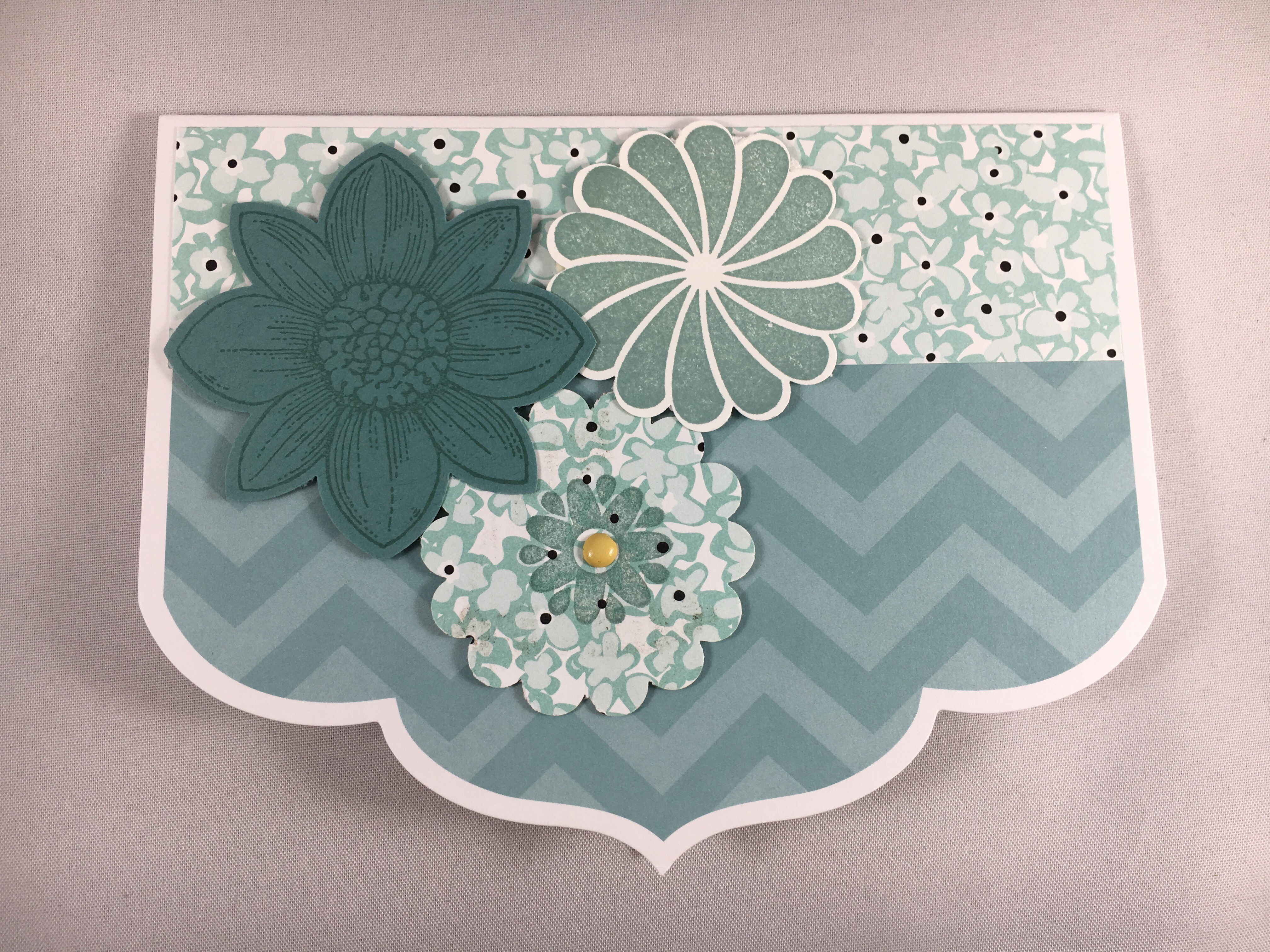 Stampin Up note card