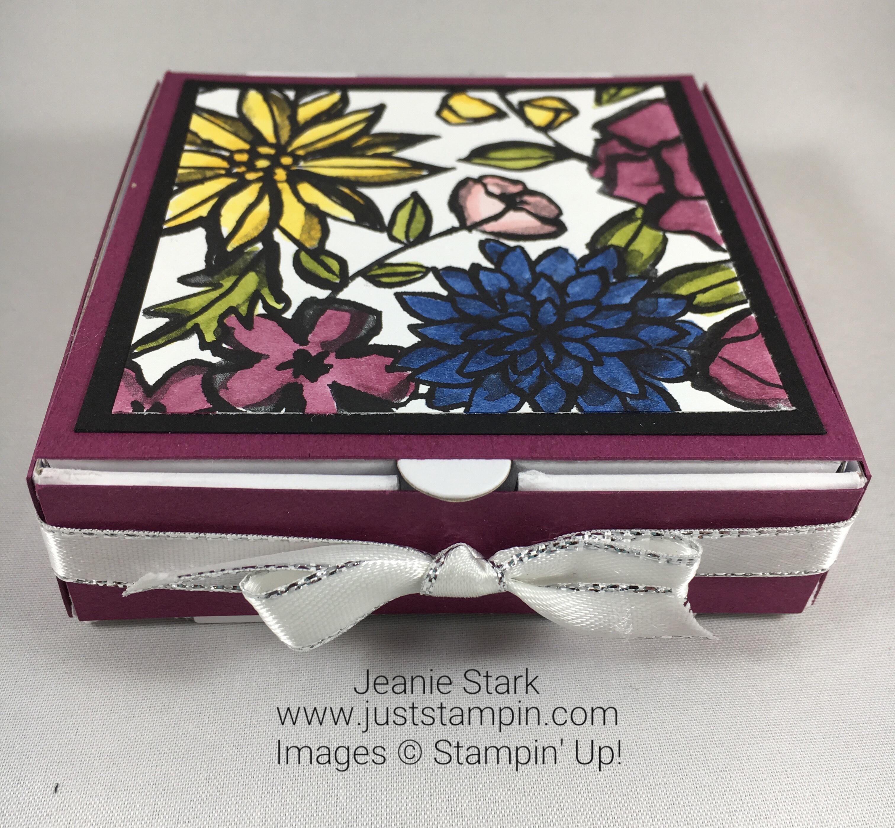 Stampin Up Pizza Box idea - Jeanie Stark StampinUp