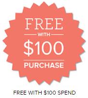 SAB FREE with $100