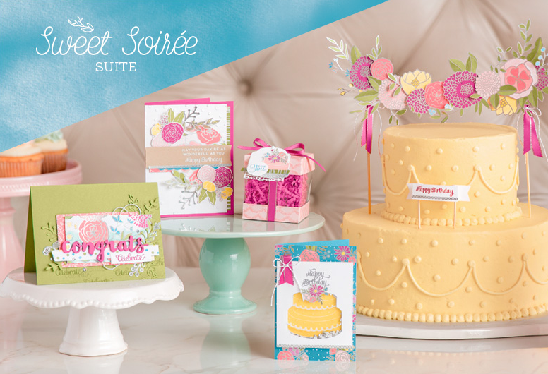 Stampin Up Sweet Soiree Suite birthday and wedding card ideas - Jeanie Stark StampinUp