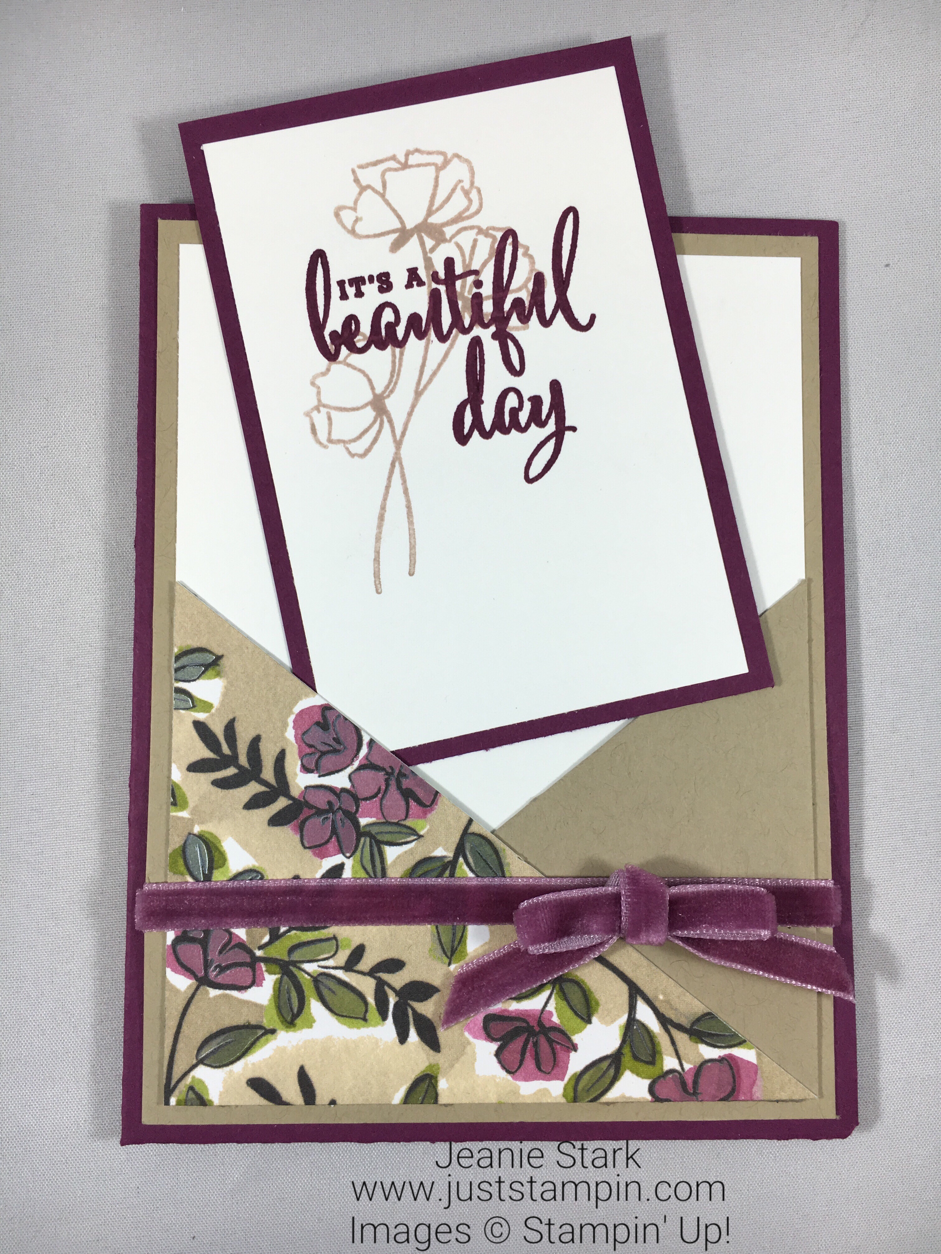 Stampin Up Love What You Do All Occasion card idea from the Share What You Love Suite -Jeanie Stark StampinUp