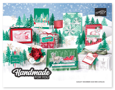 Stampin'Up! Aug - Dec Mini Catalog 2020 - for ordering information and project inspiration visit juststampin.com - Jeanie Stark StampinUp